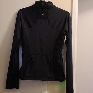 Lululemon athletica running  black jacket